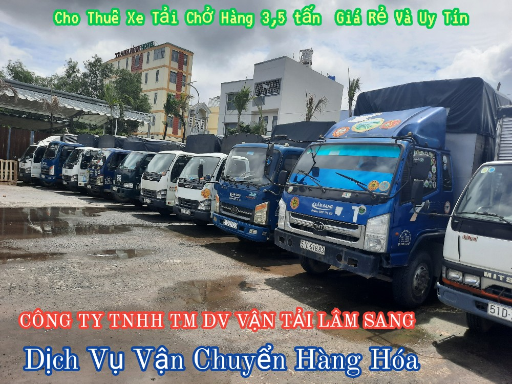 Cho thuê xe tải chở hàng 3,5 tấn