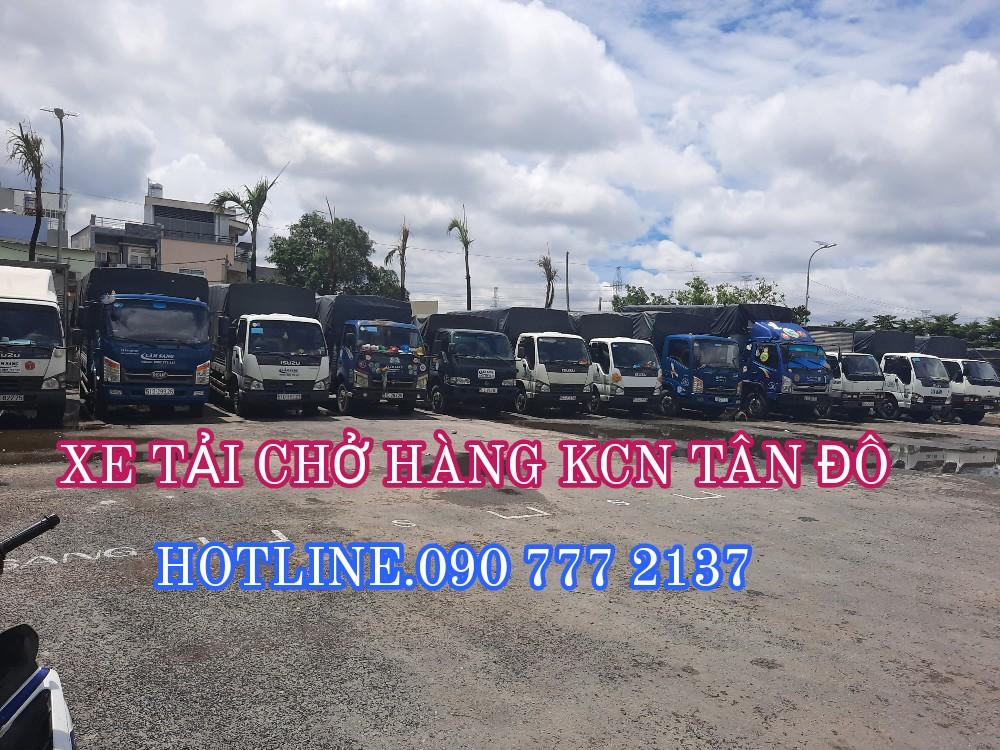 Cho thuê xe tải chở hàng KCN Tân Đô
