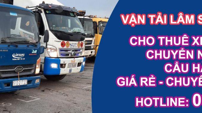 Cho thuê xe tải chở hàng KCN Tân Tạo
