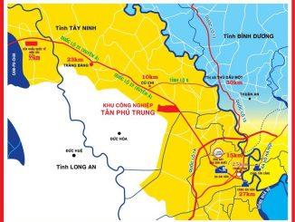 Cho thuê xe tải chở hàng KCN Tân Phú Trung