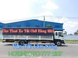Xe tải chở hàng 12 tấn thùng dài 9m5