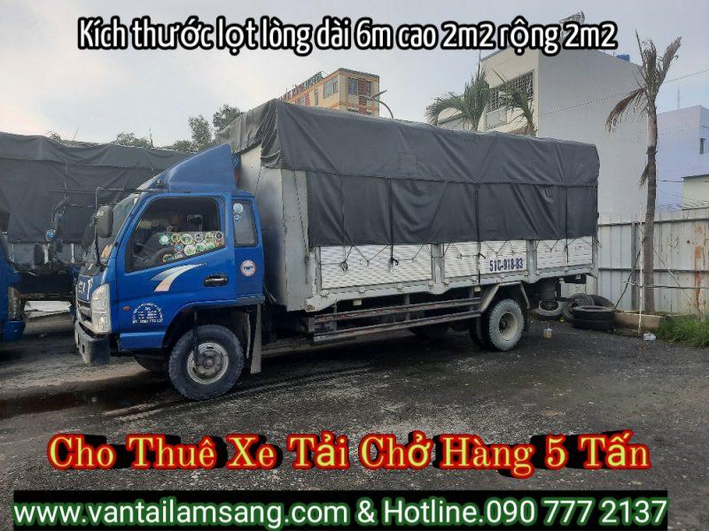 Xe tải chở hàng 5 tấn