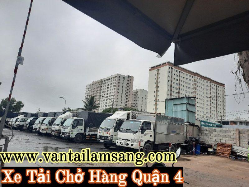 Cho thuê xe tải chở hàng Quận 4- giá rẻ-uy tín-chuyên nghiệp.Liên hệ ngay công ty Vận Tải Lâm Sang để tư vấn tận tình.