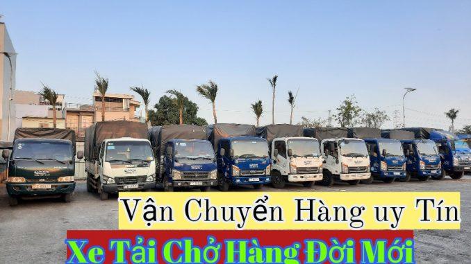 Xe tải chở hàng Quận 8