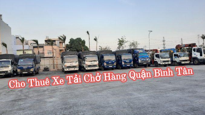 Xe tải chở hàng Quận Bình Tân