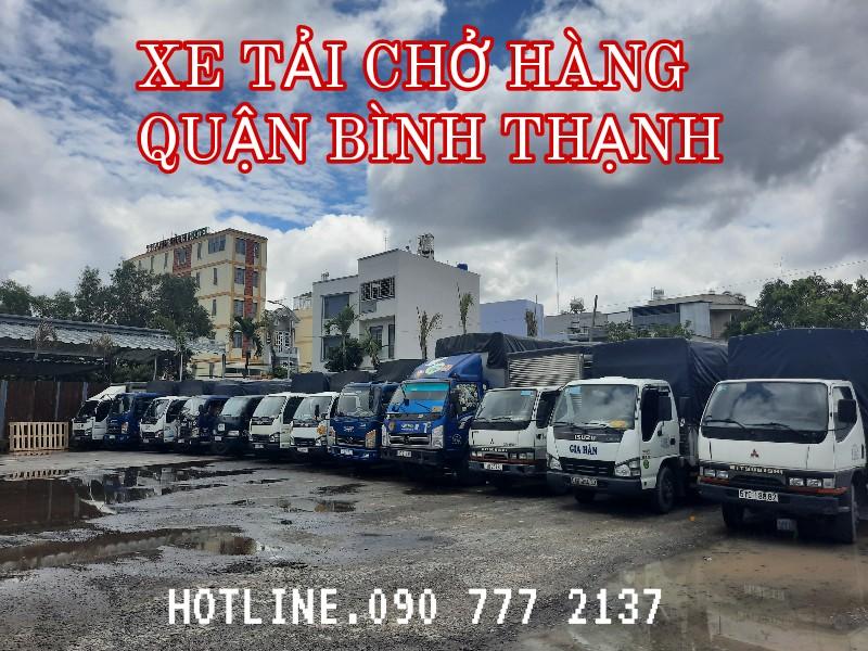 Xe tải chở hàng Quận Bình Thạnh