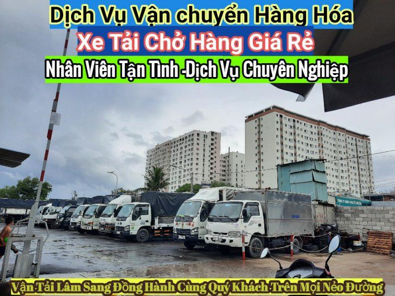 Xe tải chở hàng -dịch vụ vận chuyển hàng hóa