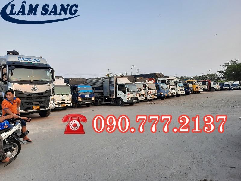Cho thuê xe tải đi tỉnh giá rẻ uy tín