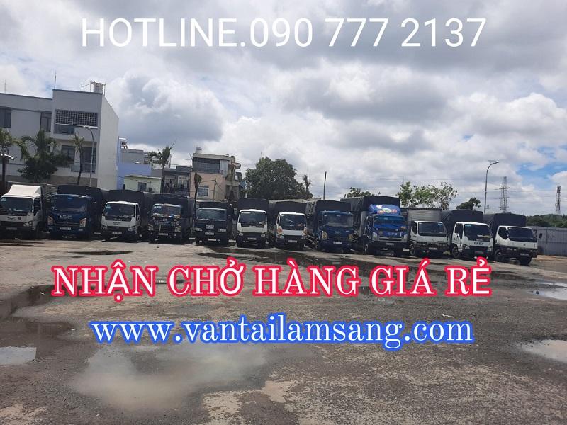 Nhận Chở Hàng Giá Rẻ - Dịch vụ chở hàng thuê uy tín tại Công ty Lâm Sang