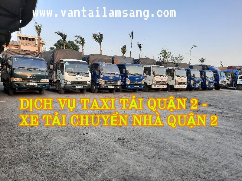 Taxi Tải Quận 2 - Xe Tải Chuyển Nhà