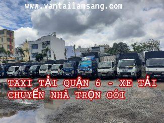 Taxi Tải Quận 5 - Xe Tải Chuyển Nhà