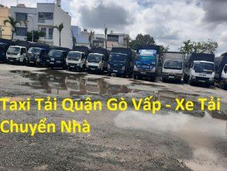 Taxi Tải Quận Gò Vấp - Xe Tải Chuyển Nhà