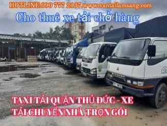 Taxi Tải Quận Tân Phú  - Xe Tải Chuyển Nhà