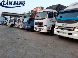 Xe tải chở thuê giá rẻ chất lượng
