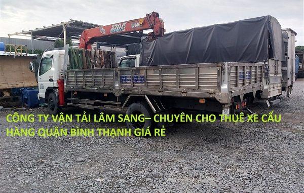 Cho Thuê Xe Cẩu Hàng Quận Bình Thạnh Giá Rẻ