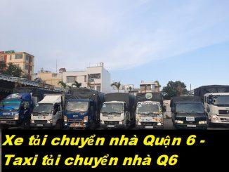 Xe tải chuyển nhà Quận 6 - Taxi tải chuyển nhà Q6