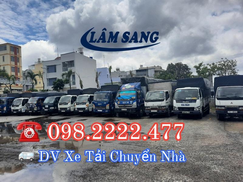 Dịch vụ cho thuê xe tải chuyển nhà - chuyển nhà giá rẻ