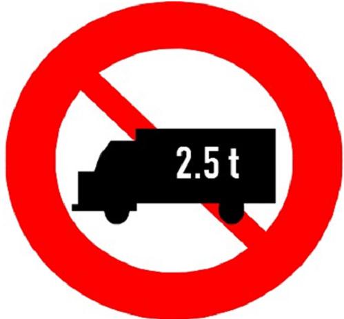 Phân biệt hai biển cấm về tải trọng xe dễ gây hiểu nhầm