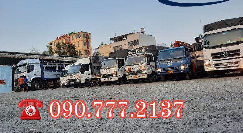 Cho Thuê xe tải chở hàng 1.8 tấn thùng 6 mét vào nội thành ban ngày