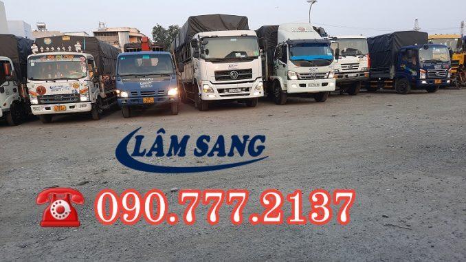 DV Thuê xe tải chở hàng nhận chở hàng giá rẻ