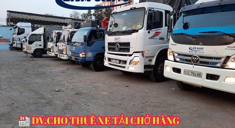 Thuê xe chở hàng