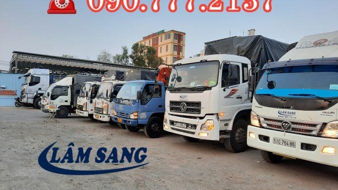 Thuê xe tải 8 tấn chở hàng