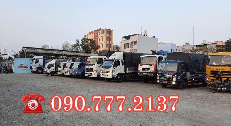 Xe chở đồ chuyển nhà