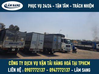 Công ty dịch vụ vận tải giá rẻ và chuyên nghiệp Lâm Sang