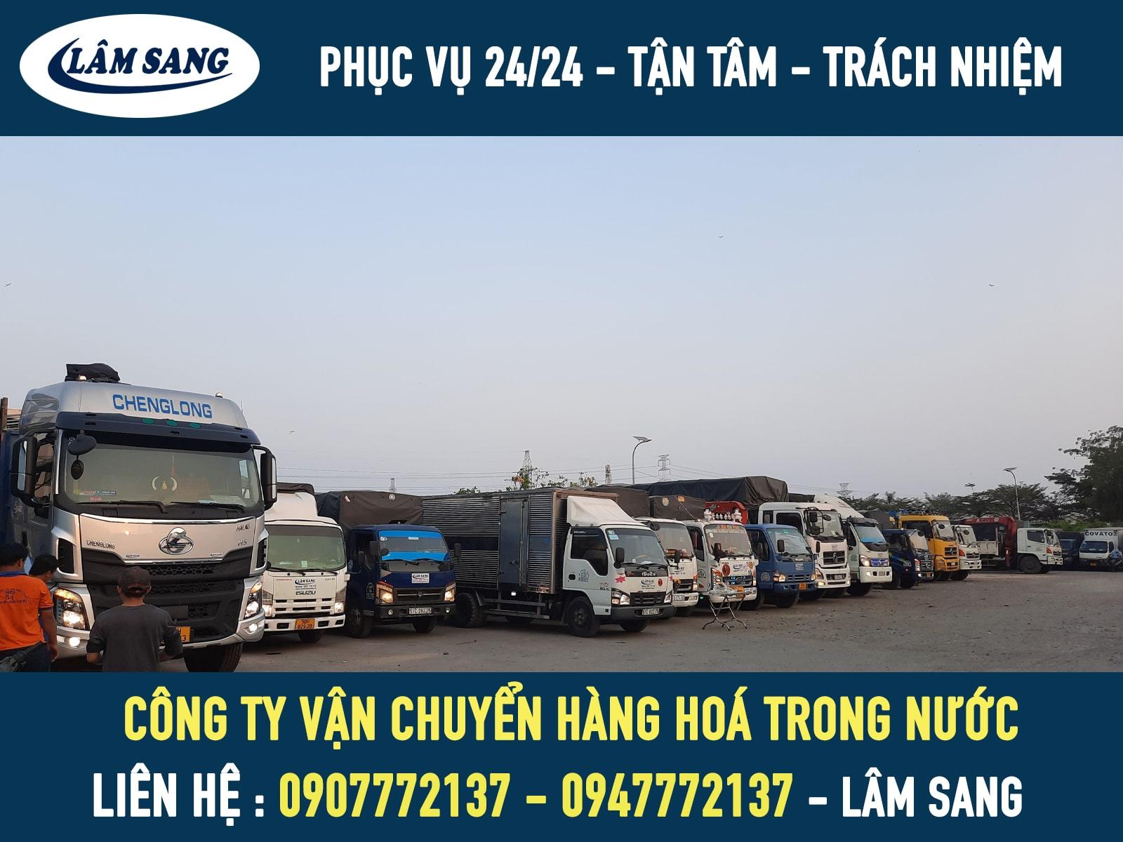 Công ty vận chuyển hàng hoá trong nước giá rẻ tại tphcm