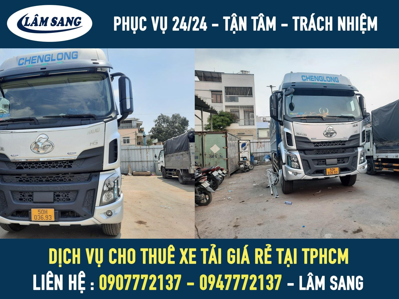 Dịch vụ cho thuê xe tải giá rẻ tại tphcm