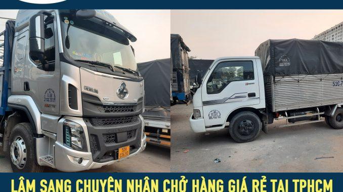 Xe tải chở hàng đi tỉnh từ tphcm – vận tải Lâm Sang