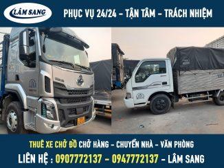 Xe tải chuyển nhà - xe chuyển đồ giá rẻ tại tphcm