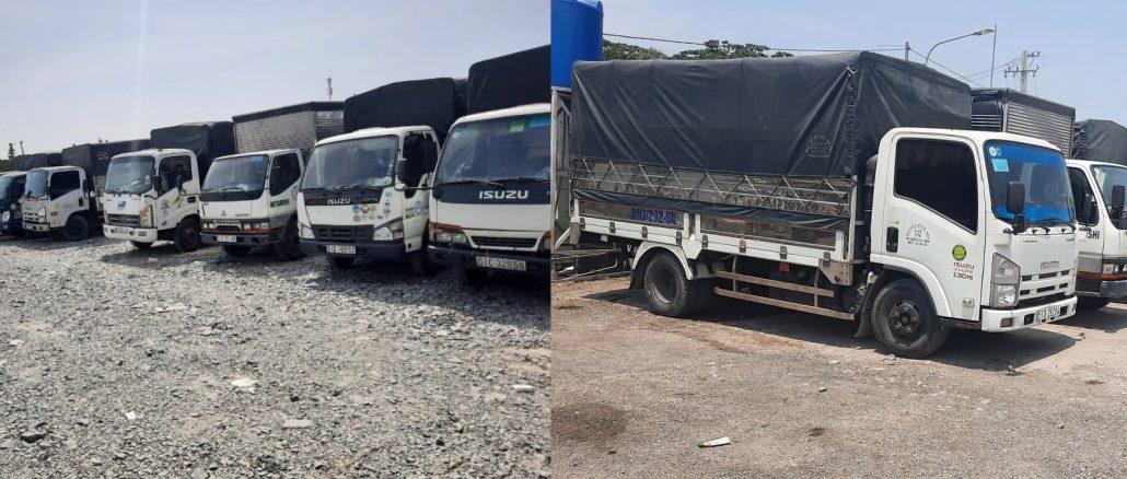 Công ty vận tải cung cấp dịch vụ cho thuê xe tải chở hàng giá rẻ tại tphcm
