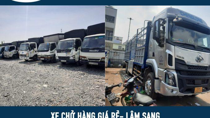 Xe tải chở hàng giá rẻ tại tphm - lâm sang