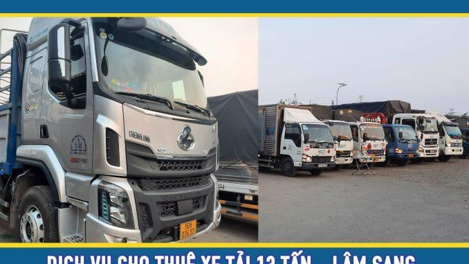 Cho thuê xe tải chở hàng 13 tấn giá rẻ tại TPHCM