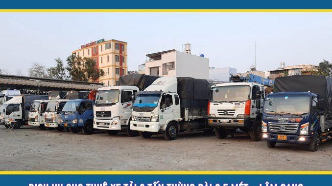 Cho thuê xe tải chở hàng 8 tấn giá rẻ TPHCM