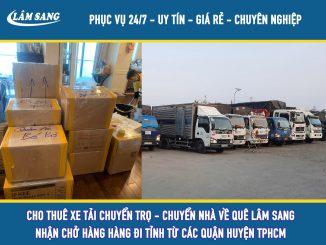 Cho thuê xe tải chuyển trọ tại tphcm giá rẻ