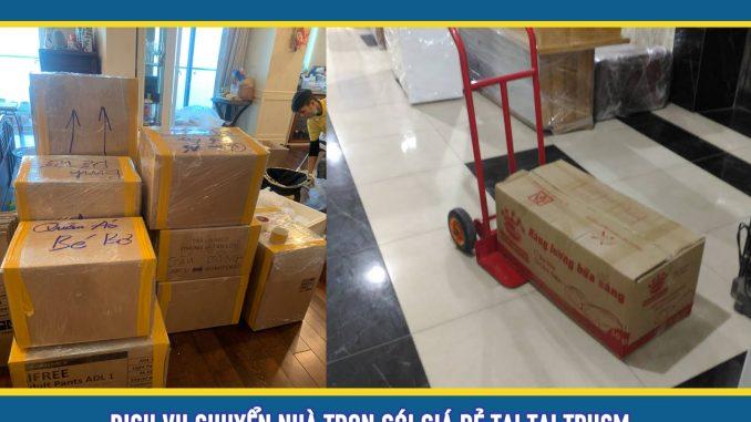 Dịch vụ chuyển nhà trọn gói giá rẻ tphcm
