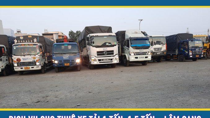 Cho thuê xe tải chở hàng 1.5 tấn giá rẻ tại tphcm