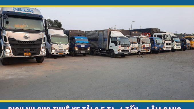 Cho thuê xe tải chở hàng 4 tấn giá rẻ tại TPHCM
