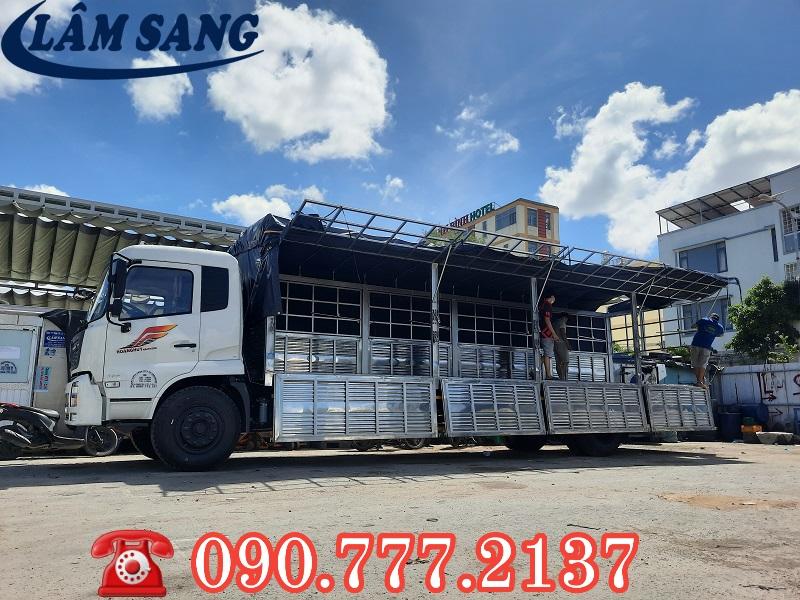 Cho Thuê xe tải chở hàng 8 tấn thùng dài 9.5 mét tại tphcm