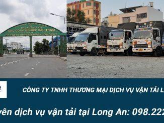 Công ty dịch vụ vận tải hàng hóa Tại Long An