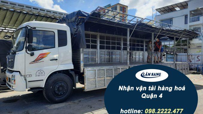 dịch vụ vận tải hàng hóa quận 4