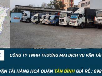 Dịch vụ vận tải hàng hóa Quận Tân Bình