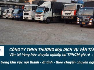 Dịch vụ vận tải hàng hoá tại tphcm giá rẻ và chuyên nghiệp