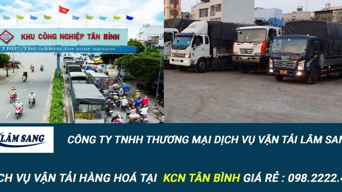 Dịch vụ vận tải hàng hóa Tại KCN Tân Bình
