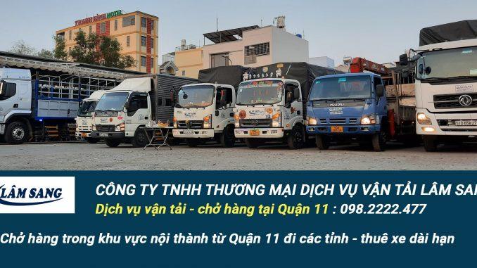 Dịch vụ vận tải hàng hóa Quận 11