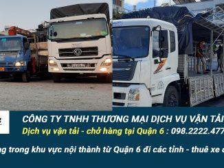 Dịch vụ vận tải hàng hóa Quận 6
