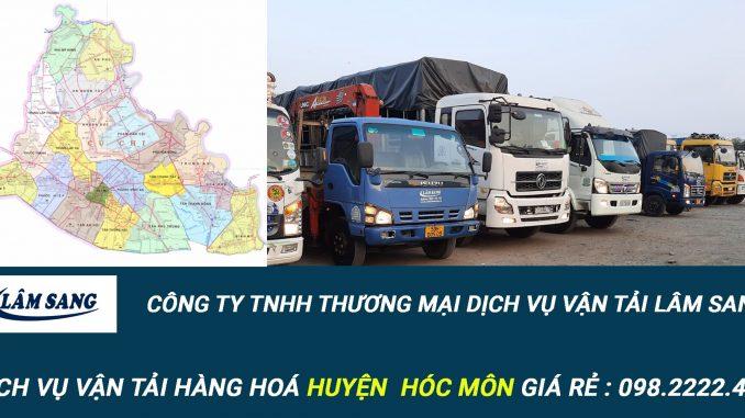 Dịch vụ vận tải hàng hóa Huyện Hóc Môn