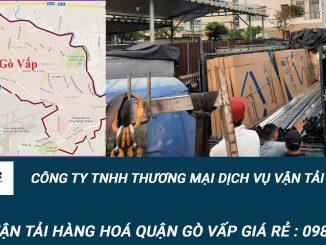 Dịch vụ vận tải hàng hóa Quận Gò Vấp